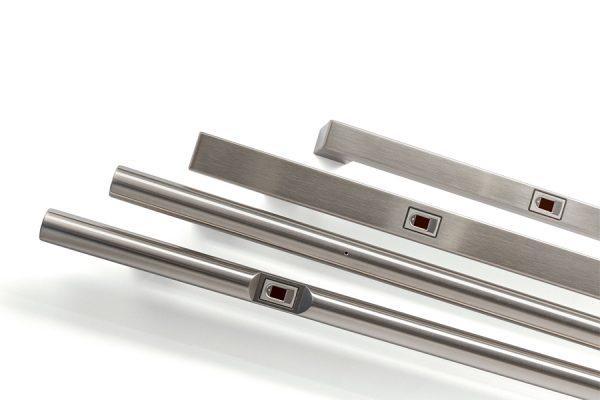 Vingerscan deurgreep-dlocks-vingerscan-domotica-smartlock-slot-cilinder-deurbeslag-deur greep-slim slot-rex-bioreader