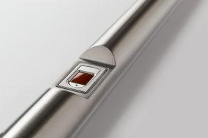 Vingerscan deurgreep-vingerscan-smartlock-bioreader-domotica-slot-cilinder-slimslot-sleutelloos-dlocks-rex