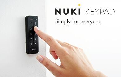 Nuki keypad-smartlock-domotica-dlocks-slimslot-elektronische sloten-nuki-bluetooth-wifi
